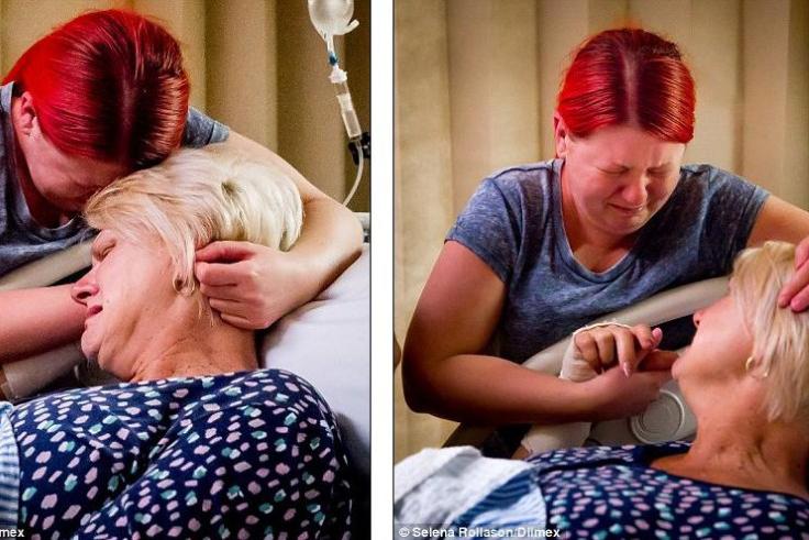 46岁母亲为白血病女儿代孕生下健康宝宝
