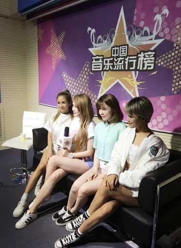 Ume Band做客《中国音乐流行榜》成员自爆理想型