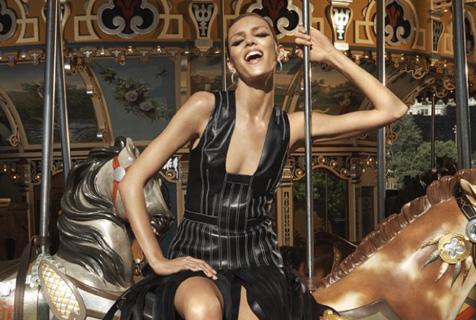 波兰超模安雅·卢比可时装写真