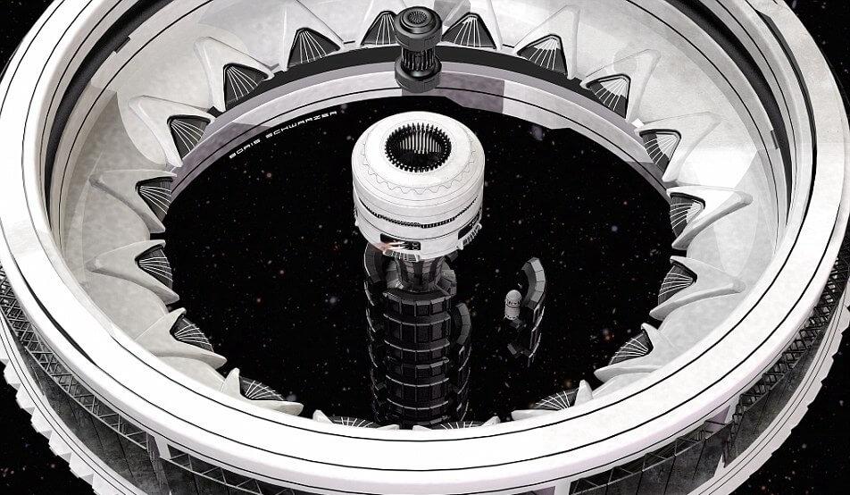 科学家设计太空列车 可载人37个小时抵达火星