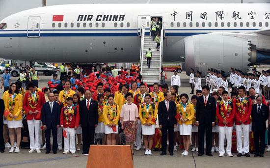 内地奥运精英代表团在港分享中华体育精神