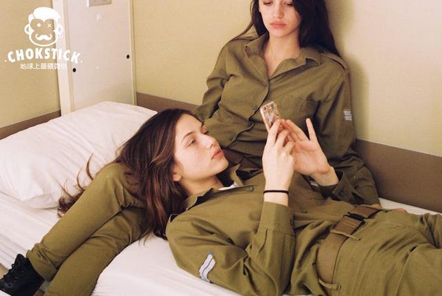 以色列女兵闺房照