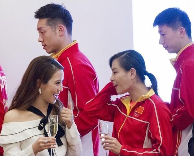 李家诚夫妇款待奥运军团 徐子淇与吴敏霞热聊