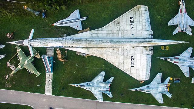 俄中央空军博物馆展示大国底蕴