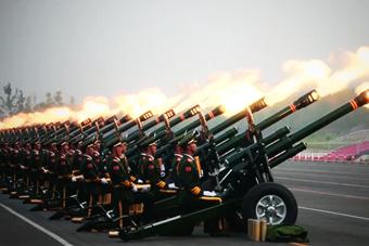 揭秘共和国礼炮部队