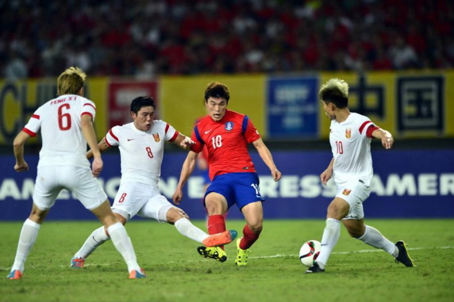 姜志鹏:恐韩已成为历史 球迷会看到有血性国足