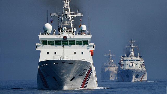颜值爆表!海警船展示大国风范
