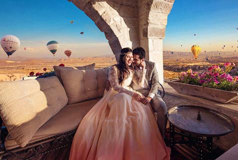 全球最美婚纱照来袭 甜蜜浪漫
