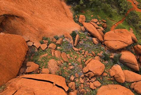 无人机视角拍澳公园壮阔之景