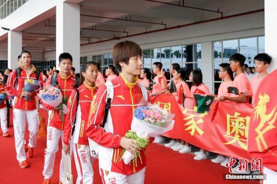奥运精英代表团到访澳门 获赠1400万澳门元奖金