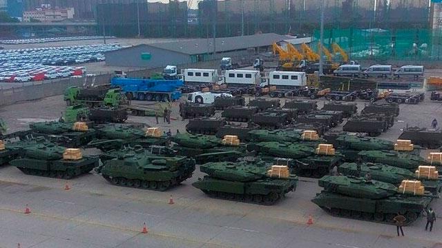印尼接收16辆豹2坦克 经特殊改装