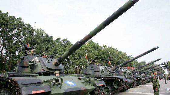 台军主战坦克再发生意外:炮膛爆炸 全面停用检测