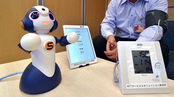 NTT东日本将面向护理设施推出机器人服务