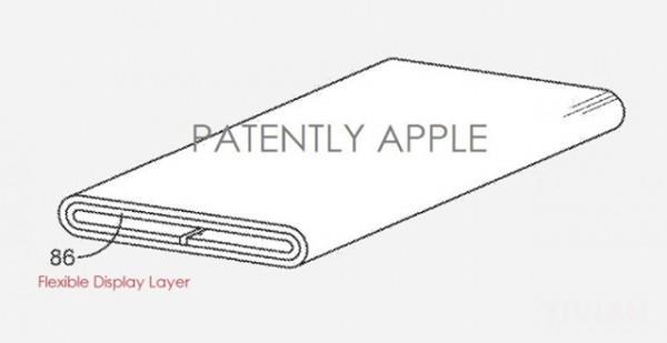苹果获可弯曲OLED显示屏专利