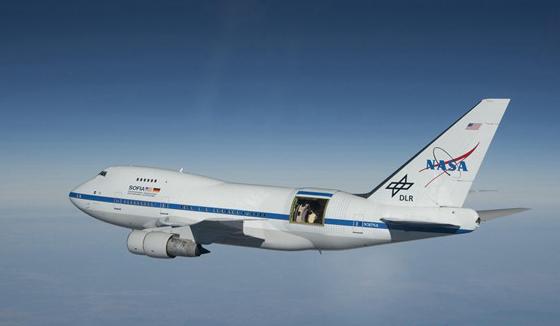 """美媒曝光世界最大""""飞行天文台""""波音747改造而成"""