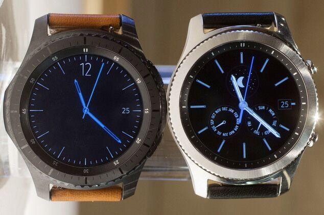 三星Gear S3发布:内置GPS模块支持Samsung Pay
