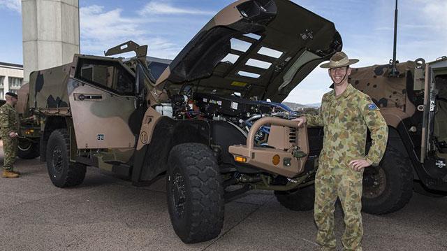 看看澳大利亚陆军都有啥装备