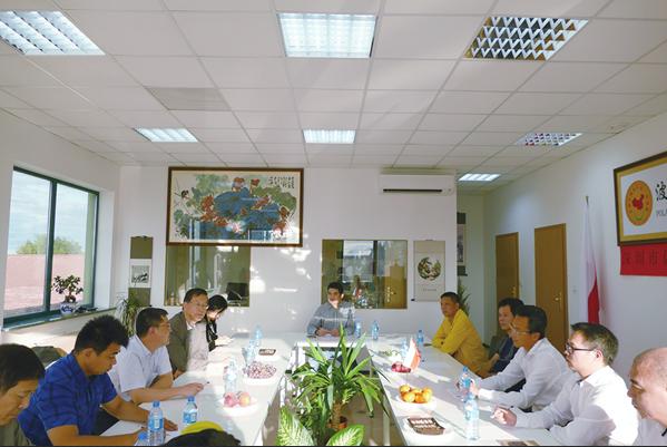 深圳官员与波兰侨界交流