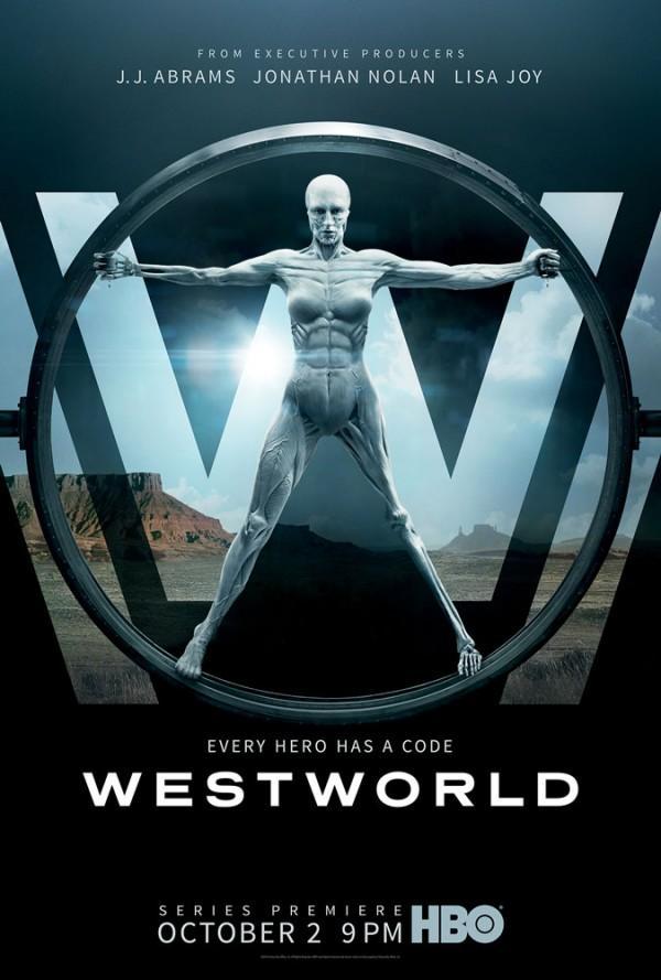 """HBO科幻《西部世界》公布""""人造人""""款海报"""