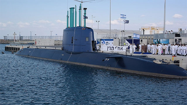 以色列潜艇涂装颜色小清新