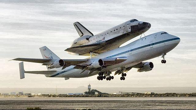 世上不只安225能背航天飞机