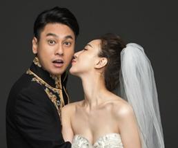 朱孝天韩雯雯巴厘岛大婚 古典婚照妆扮与众不同