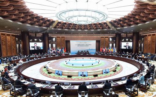 G20杭州峰会举行 习近平主持会议并致开幕辞