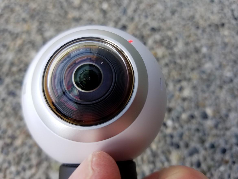三星Gear 360全景相机评测:操作简单占存少