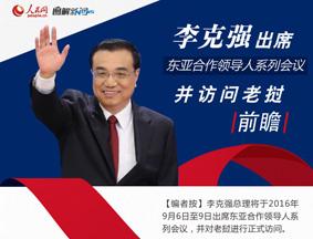 图解:李克强老挝之行前瞻