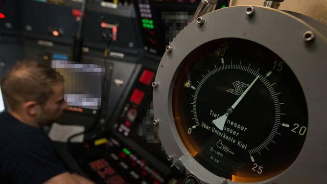 德国最先进潜艇内部图曝光