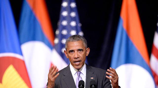 美国总统奥巴马访问老挝 计划追加援款清除炸弹