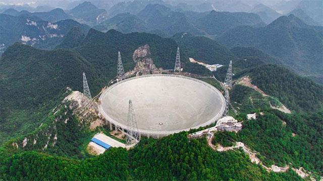 世界最大射电望远镜即将投入使用