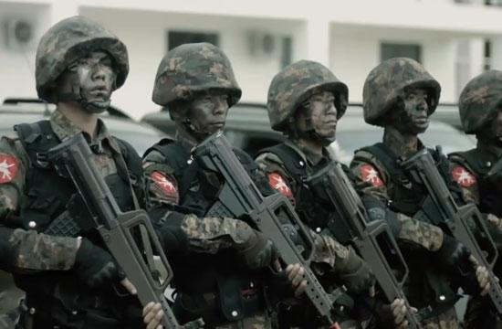 乍一看还以为这支部队是解放军