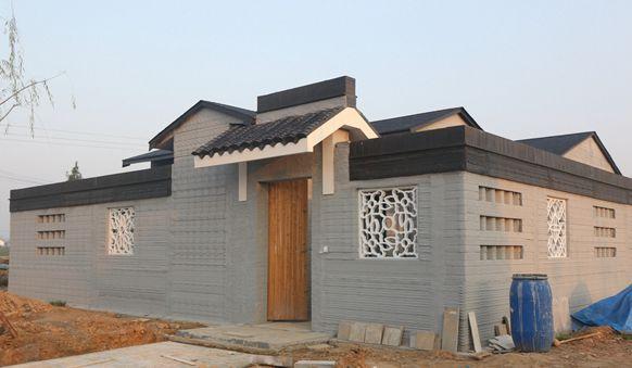 """打印""""无砖""""苏式庭院亮相 具备空调系统环境舒适"""