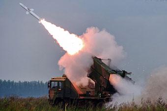 防空导弹旅千里奔袭实弹射击