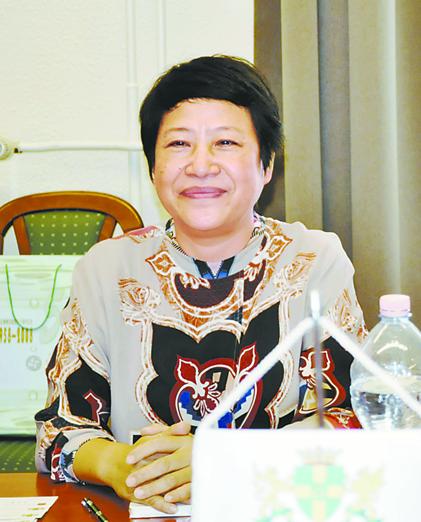 上海青浦区委书记访问布达佩斯