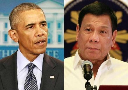 菲总统演讲当奥巴马面批美国:我们的祖先被杀害