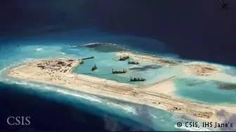 南沙海鸥岛图片