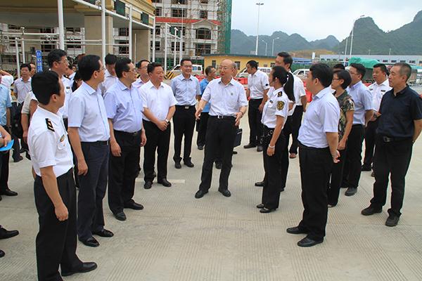 中国第一个国检试验区在凭祥成立
