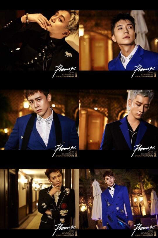 """男团2PM将携新专辑回归 """"禽兽男""""变身绅士"""