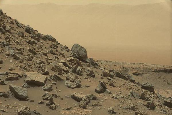NASA发布新影像 火星与地球景色如出一辙