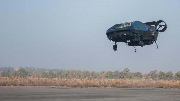 """以色列垂直起降无人运输机""""鸬鹚""""最新试飞成功"""