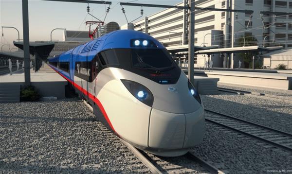 美国宣布将推出新一代高铁列车:长相卡通