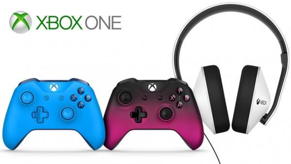 微软宣布新款Xbox One手柄及特别版耳机