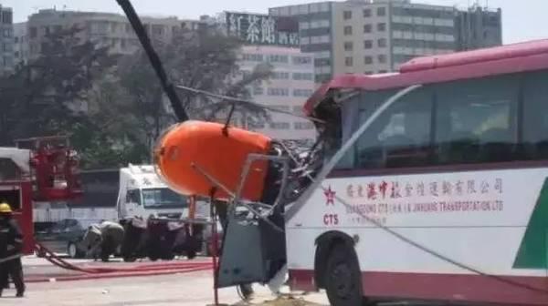 车被直升机撞了!如何走保险?