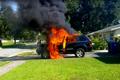 Jeep大切诺基起火