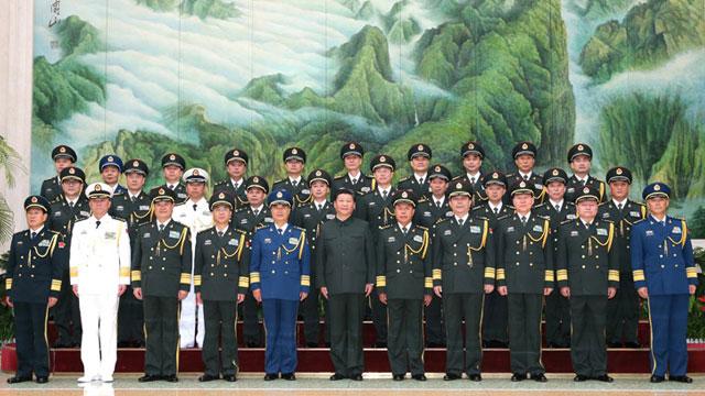 中央军委联勤保障部队成立