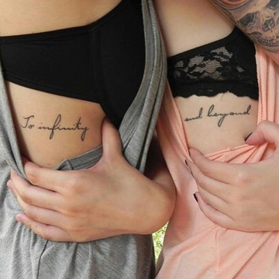 法媒推荐15款闺蜜纹身图案 为友情发声