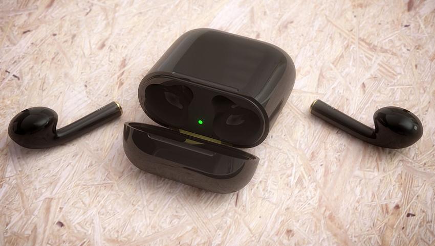亮黑色iPhone 7遭疯抢 大神设计亮黑版Airpods耳机