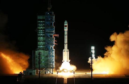 天宫二号空间实验室发射成功